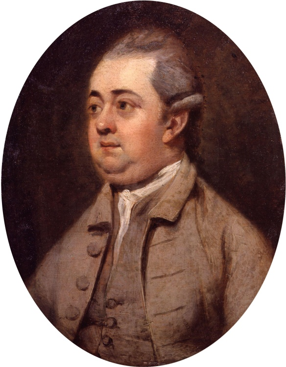 Edward Gibbon by Henry Walton