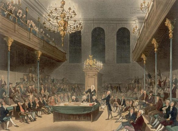 The 18th century House of Commons