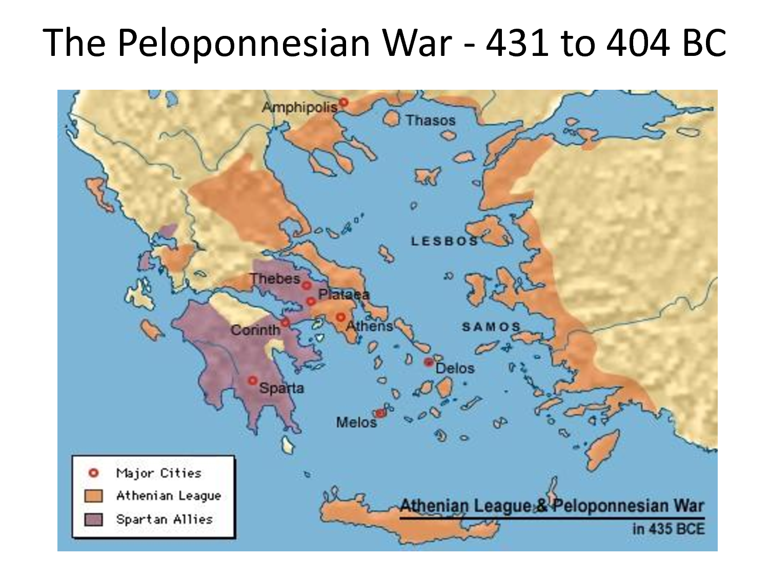 What Happened in Greece After the Peloponnesian War?