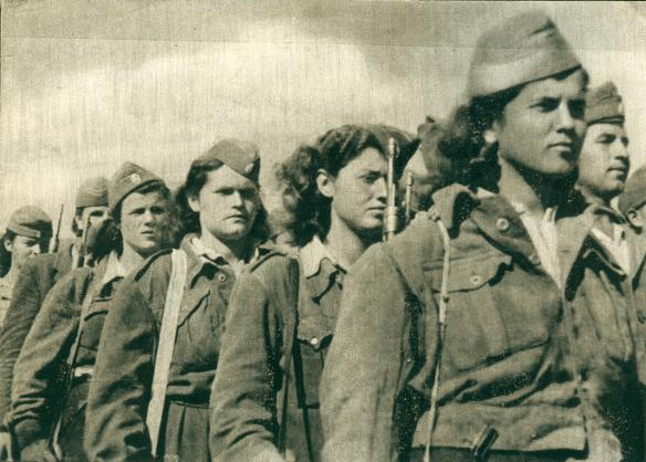 Greek women fight for national and social emancipation
