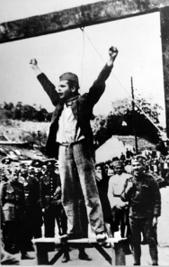The execution of Stjepan Filipovic, May 1942