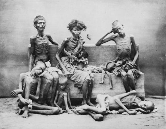 Victims of the Bengal famine