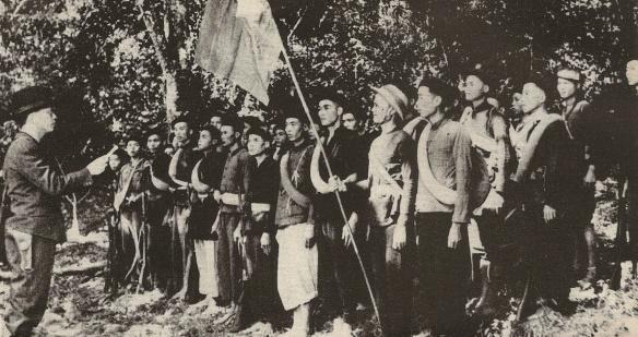 Vietminh forces, 1944