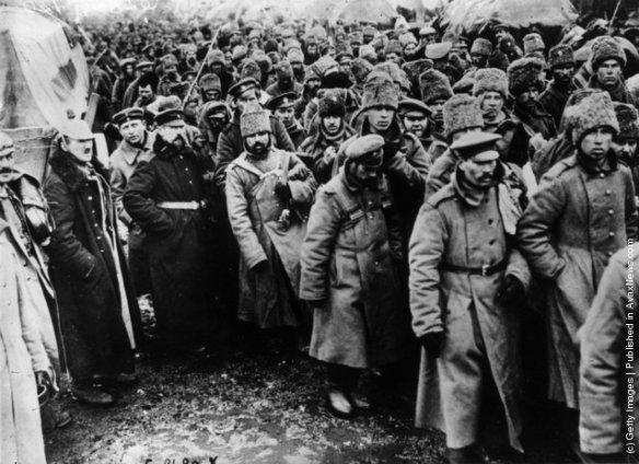 Russia POWs, First World War