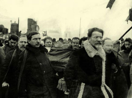 Lenin's funeral, 21 January 1924