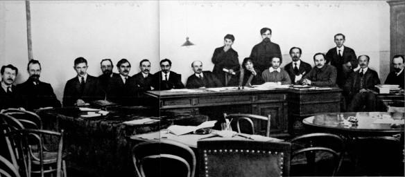 Sovnarkom meeting December 1917-January 1918